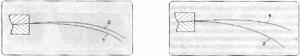 Определение направления отлива бумаги