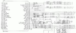 микросхема синхрогенератора