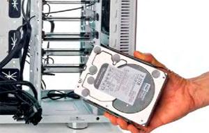 Как поменять жесткий диск