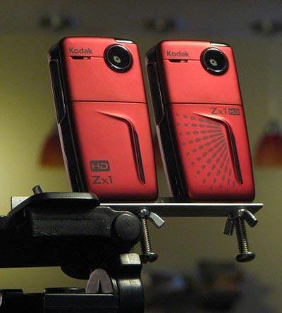 3D камера на примере цифровых камер Kodak Zx1