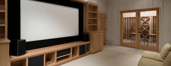 Установка домашних кинотеатров