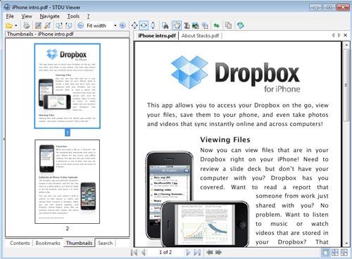 Программа STDU Viewer 1.6.71 для просмотра PDF и не только