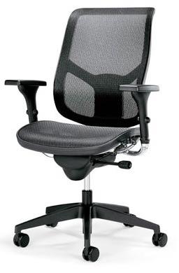 компьютерное кресло синхронным механизмом