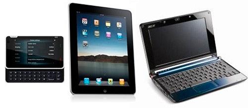 Что лучше ноутбук или планшет