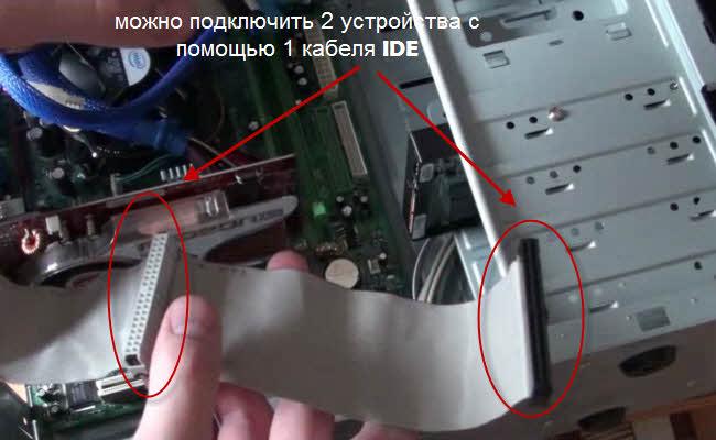 жесткий диск и DVD-привод,