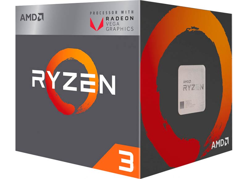 AMD Ryzen 3 2200G 3.5GHz/4MB
